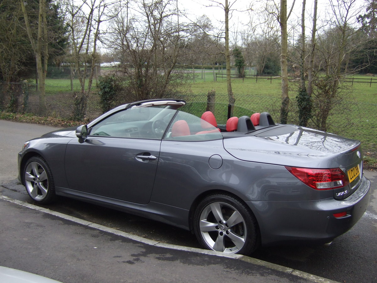 2012 Lexus IS250C Limited Edition Convertible For Sale (picture 5 of 6)
