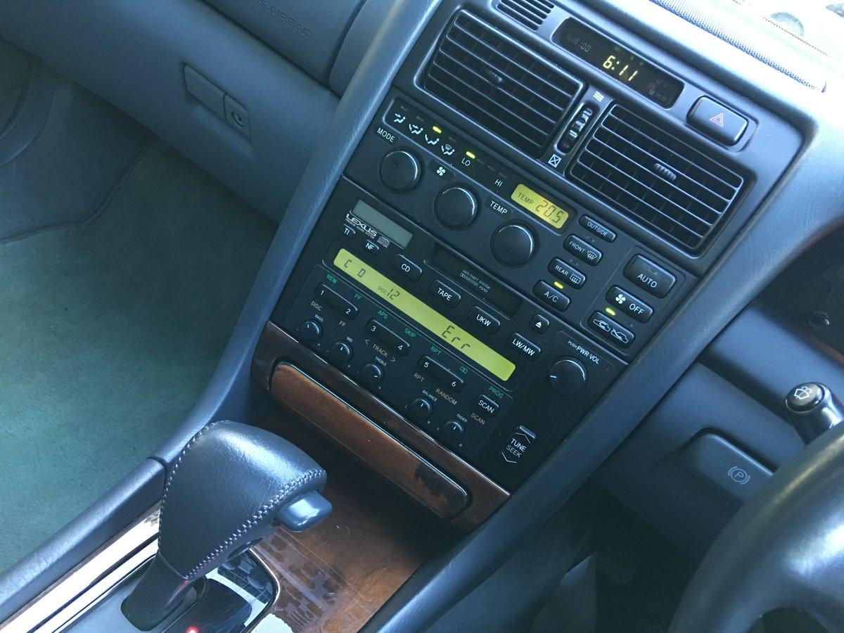 Lexus GS300 Auto 1997 39,000 miles  For Sale (picture 5 of 6)
