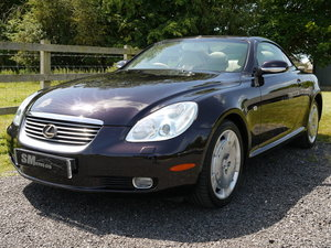 2001 LEXUS SC430 62K MILES, FULL HISTORY, PRESENT OWNER 11 YEARS For Sale