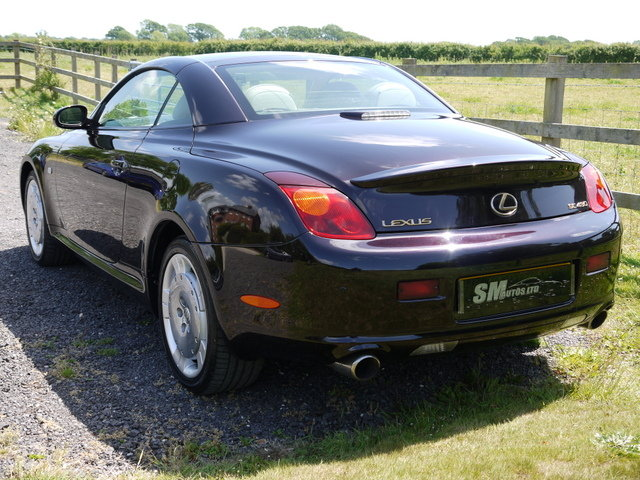 2001 LEXUS SC430 62K MILES, FULL HISTORY, PRESENT OWNER 11 YEARS SOLD (picture 3 of 6)