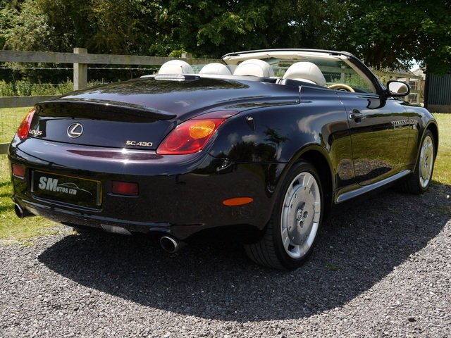 2001 LEXUS SC430 62K MILES, FULL HISTORY, PRESENT OWNER 11 YEARS SOLD (picture 4 of 6)