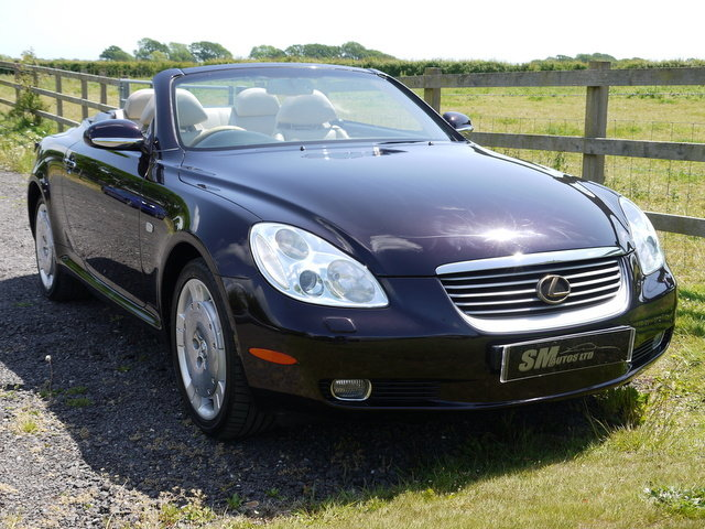 2001 LEXUS SC430 62K MILES, FULL HISTORY, PRESENT OWNER 11 YEARS SOLD (picture 6 of 6)
