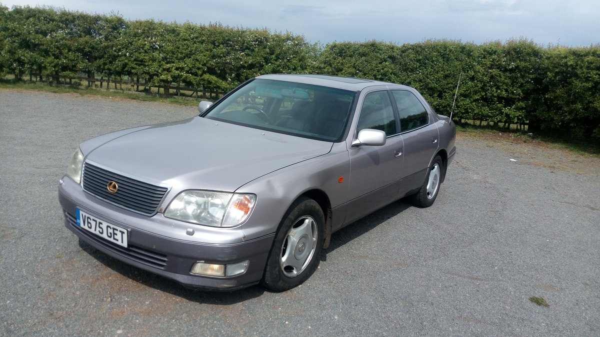 1999 lexus ls400 4.0 v8 290bhp For Sale (picture 2 of 6)