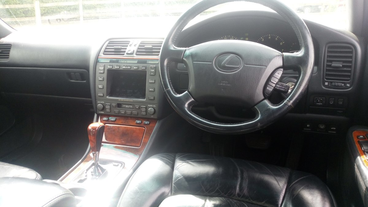 1999 lexus ls400 4.0 v8 290bhp For Sale (picture 4 of 6)