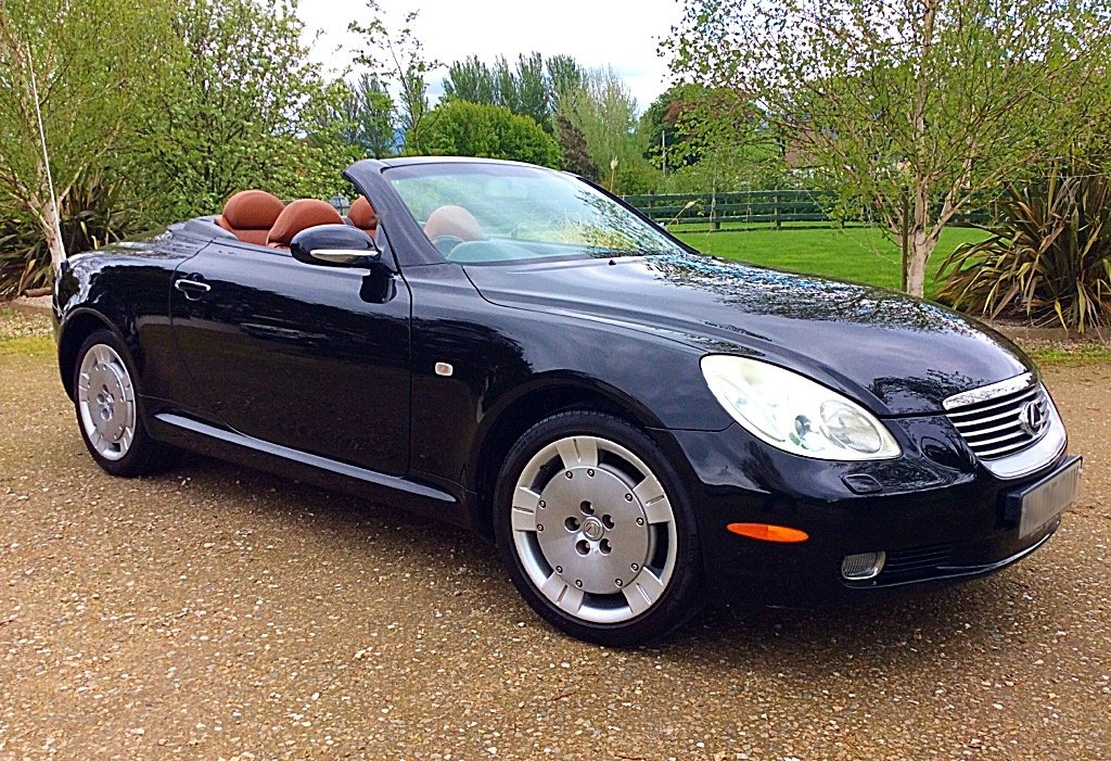 2005 LEXUS SC430 CONVERTIBLE SEATS 4 - PURE CLASS - PX ? SOLD (picture 1 of 6)