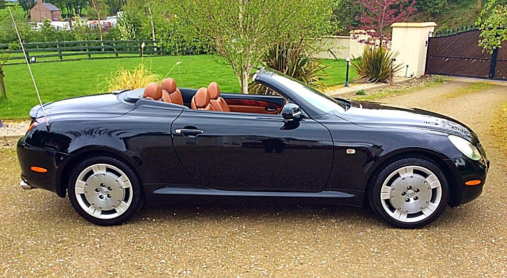2005 LEXUS SC430 CONVERTIBLE SEATS 4 - PURE CLASS - PX ? SOLD (picture 2 of 6)