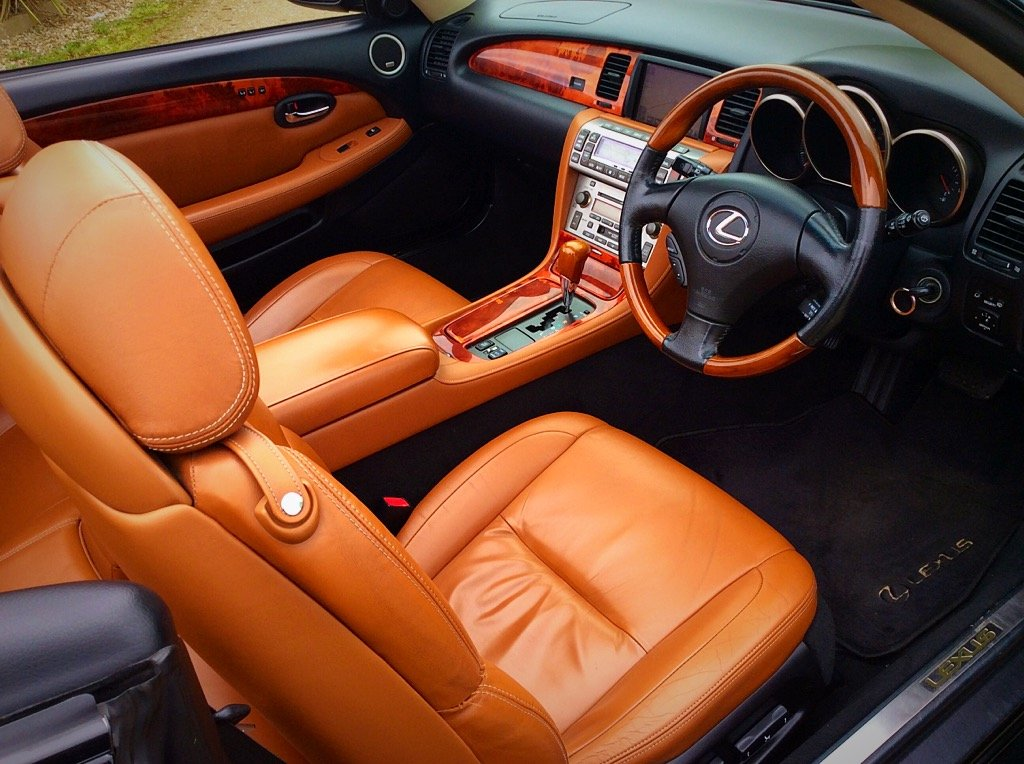 2005 LEXUS SC430 CONVERTIBLE SEATS 4 - PURE CLASS - PX ? SOLD (picture 4 of 6)