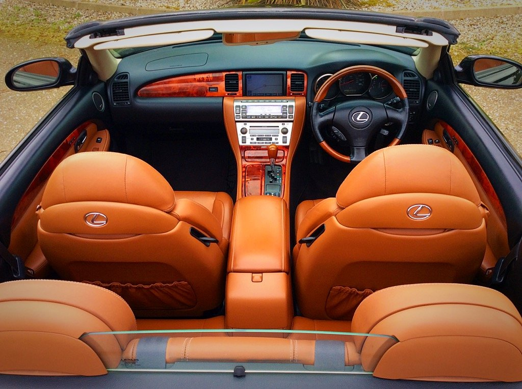 2005 LEXUS SC430 CONVERTIBLE SEATS 4 - PURE CLASS - PX ? SOLD (picture 5 of 6)