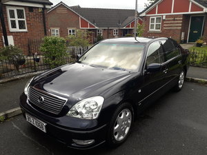 2003 is this the most pampered Lexus ls430 in the u.k ? For Sale
