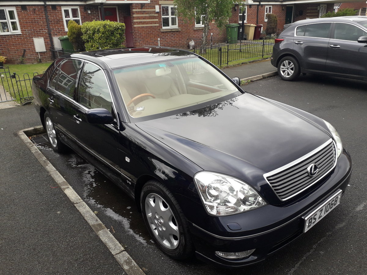 2003 is this the most pampered Lexus ls430 in the u.k ? For Sale (picture 2 of 6)