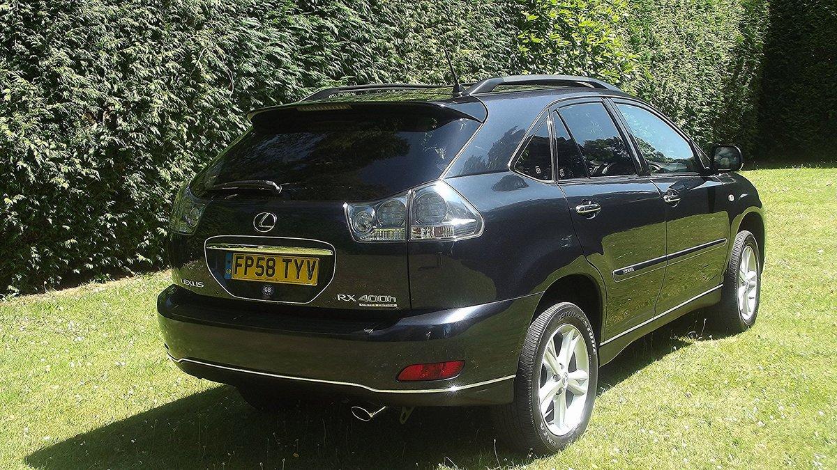 2009 LEXUS RX400H Ltd HYBRID EXEC CVT 4 DOOR 4WD ESTATE For Sale (picture 3 of 6)