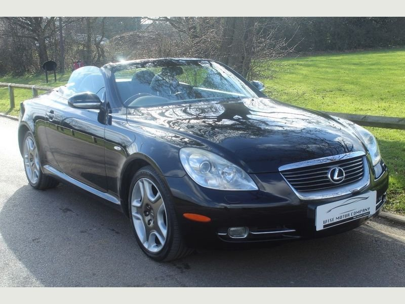 2007 Beautiful Lexus SC430 Auto Convertible For Sale (picture 1 of 6)