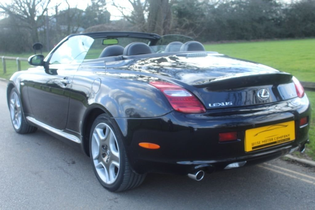 2007 Beautiful Lexus SC430 Auto Convertible For Sale (picture 4 of 6)