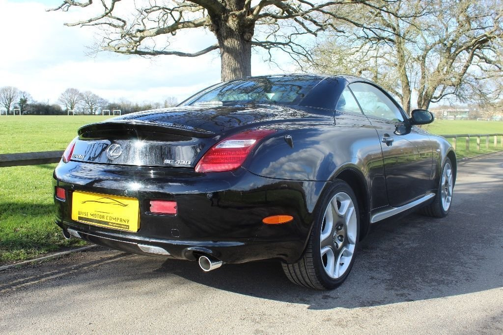 2007 Beautiful Lexus SC430 Auto Convertible For Sale (picture 6 of 6)