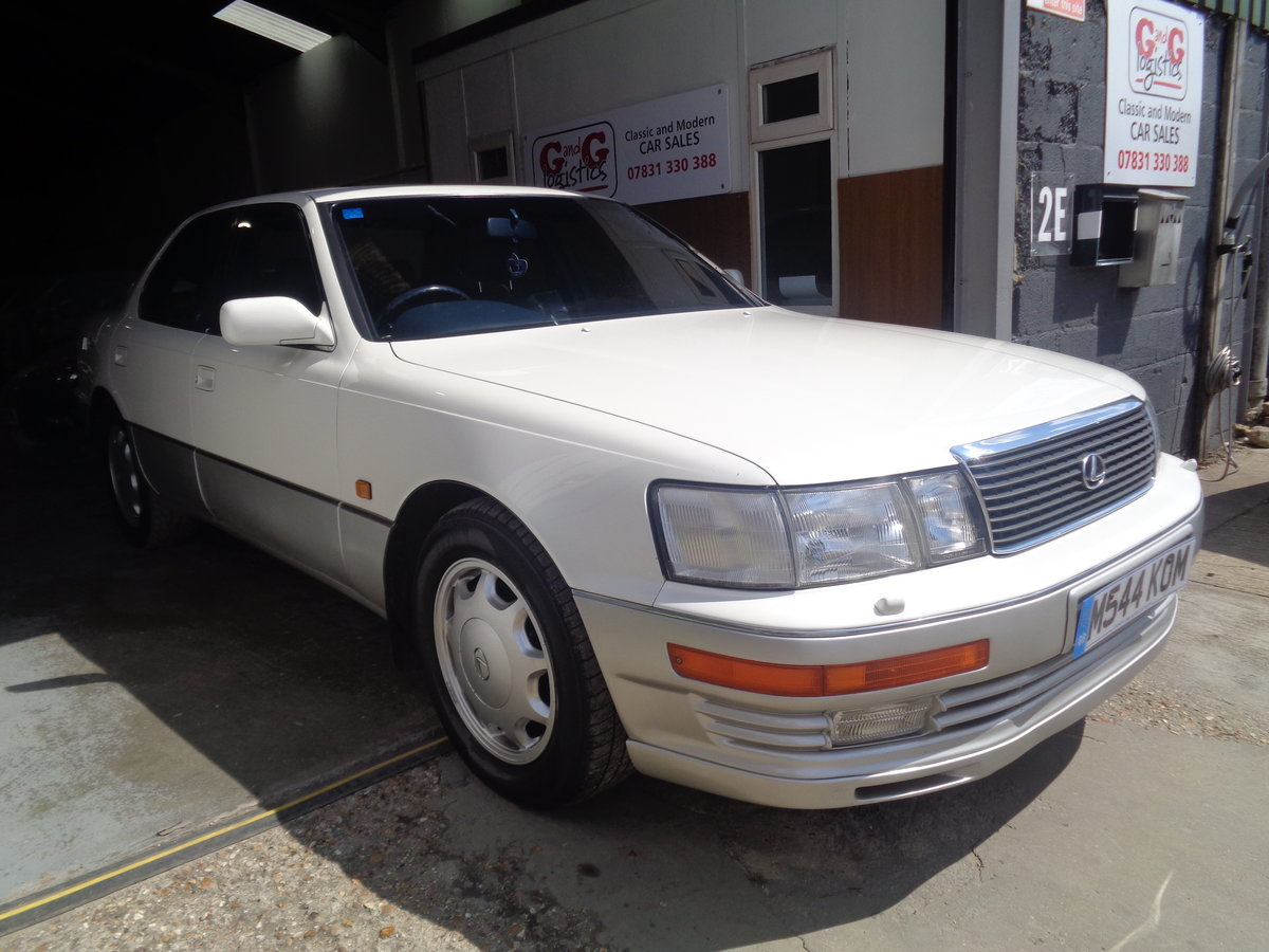 1994 Lexus LS400 - 73,000 mls - stunning 4.0 V8  !! For Sale (picture 1 of 6)