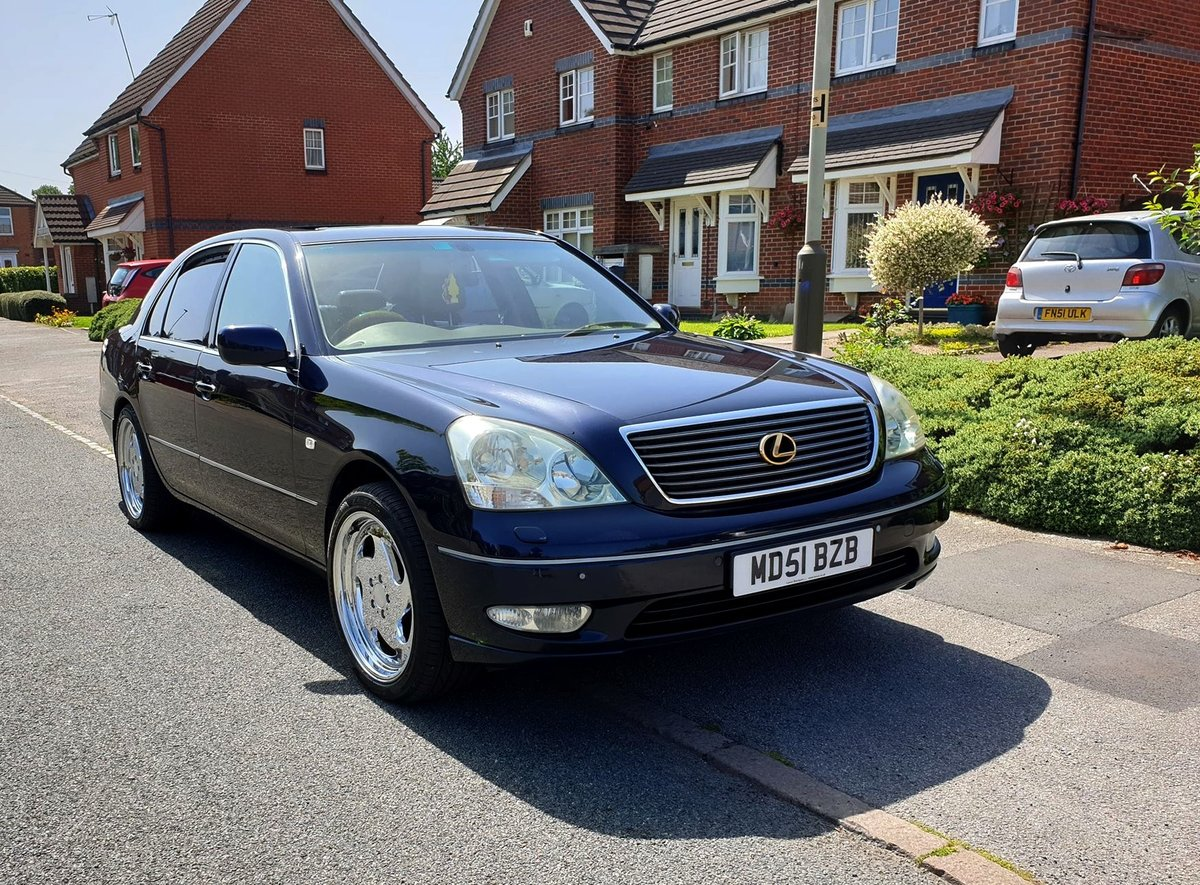 2002 Lexus Ls 430 president top spec For Sale (picture 1 of 6)