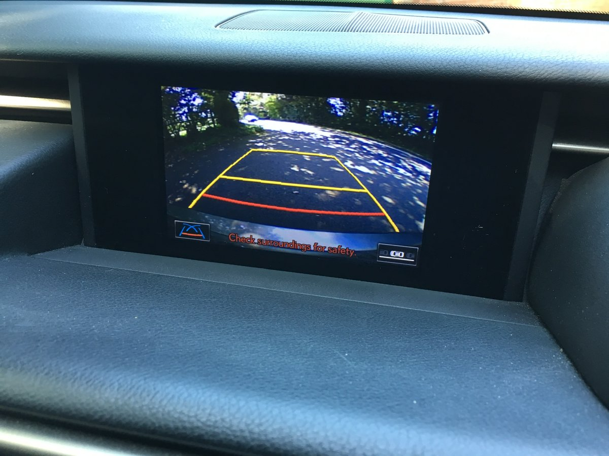 2013 Lexus IS 300h Auto Navigation For Sale (picture 5 of 6)