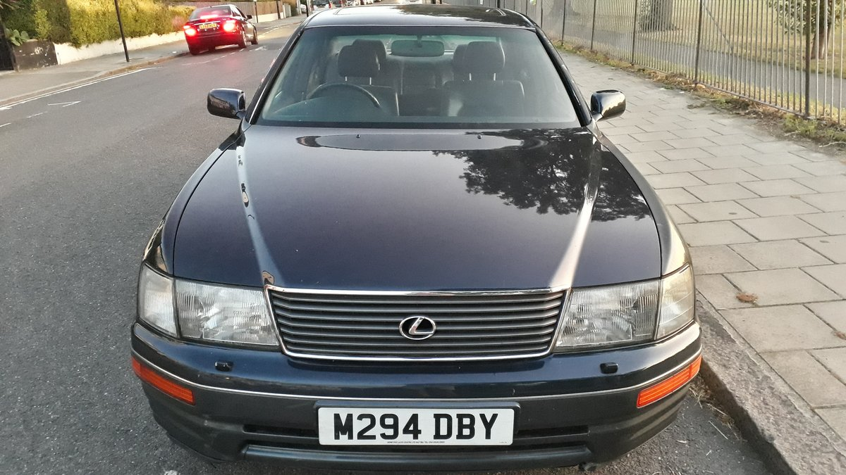 1995 Lexus LS400 122k miles 12 months MOT SOLD (picture 1 of 6)
