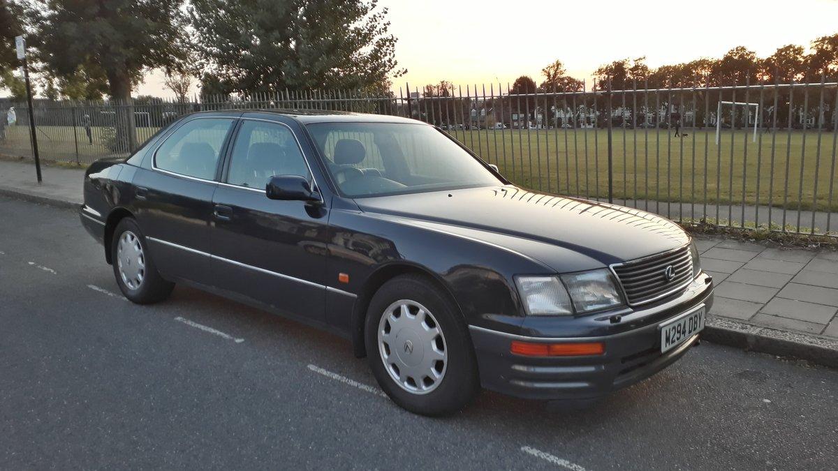 1995 Lexus LS400 122k miles 12 months MOT SOLD (picture 2 of 6)