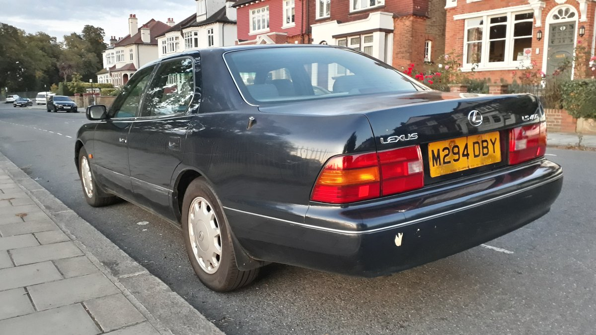 1995 Lexus LS400 122k miles 12 months MOT SOLD (picture 3 of 6)