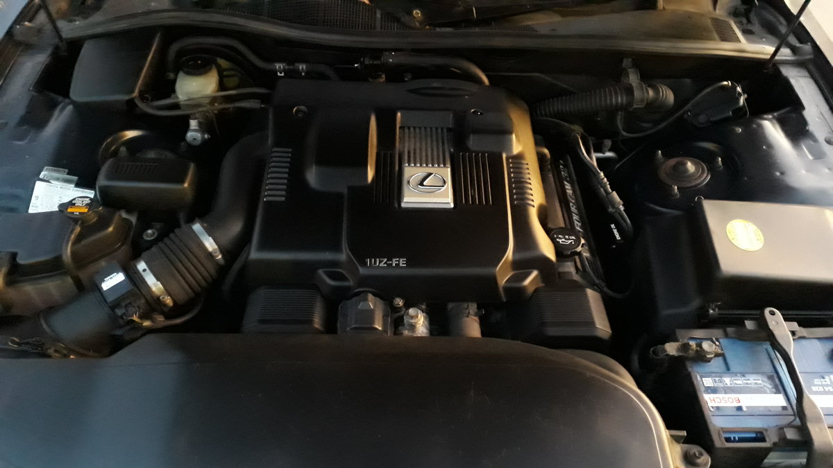 1995 Lexus LS400 122k miles 12 months MOT SOLD (picture 5 of 6)