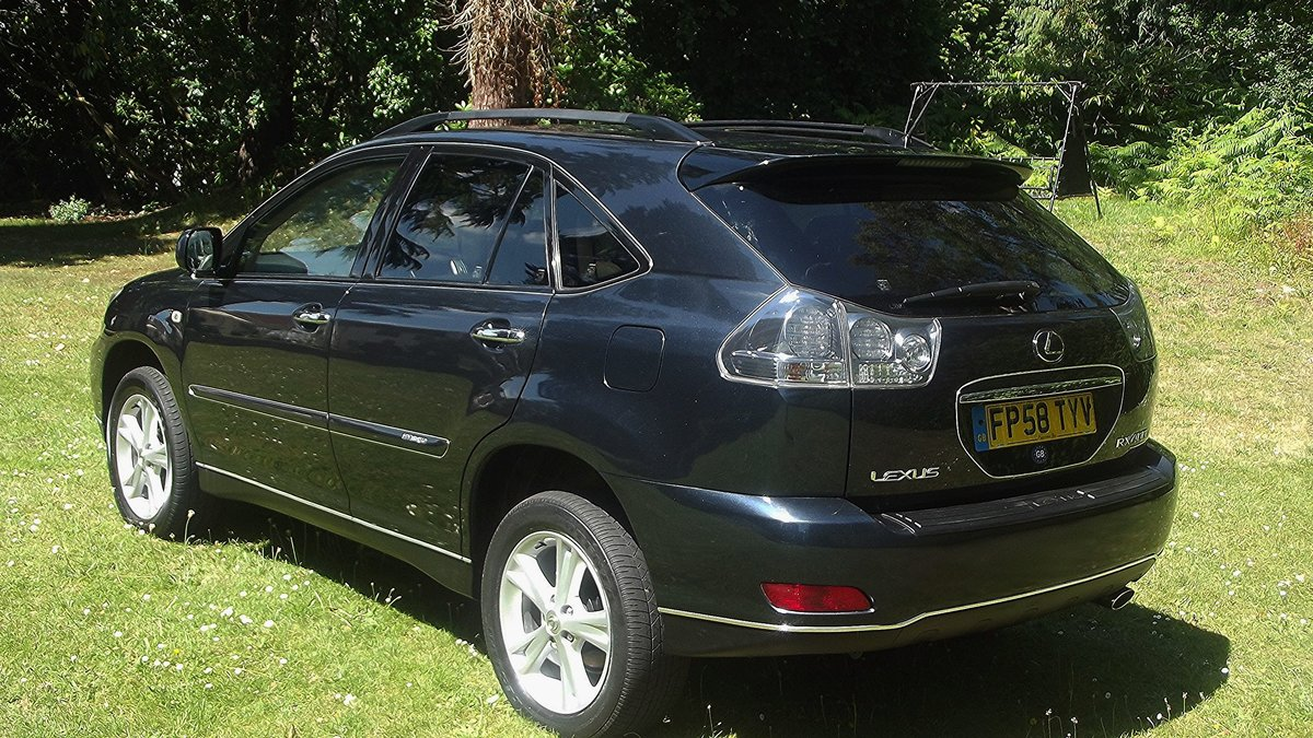 2009 LEXUS RX400H Ltd EXEC CVT 4 DOOR 4WD ESTATE SOLD (picture 2 of 6)