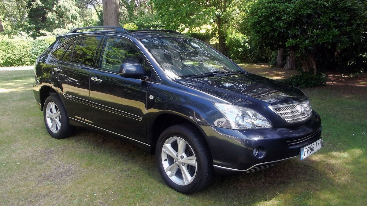 2009 LEXUS RX400H Ltd EXEC CVT 4 DOOR 4WD ESTATE SOLD (picture 6 of 6)