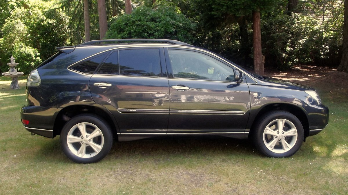 2009 LEXUS RX400H Ltd EXEC CVT 4 DOOR 4WD ESTATE SOLD (picture 2 of 6)