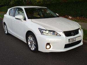 2012 Lexus ct 200h 1.8 136bhp se-l premier cat n For Sale