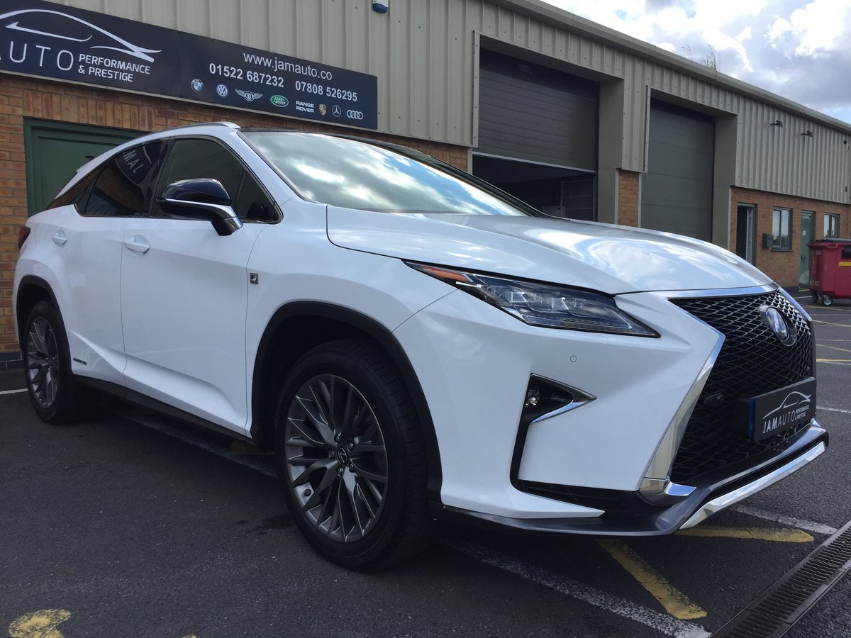 2017 RX 450h Pan Roof, HUD SAT NAV 20 For Sale (picture 2 of 6)