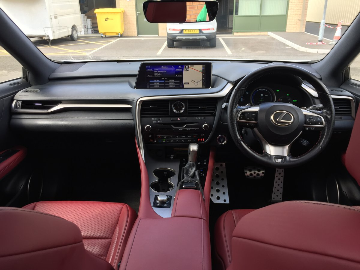 2017 RX 450h Pan Roof, HUD SAT NAV 20 For Sale (picture 6 of 6)