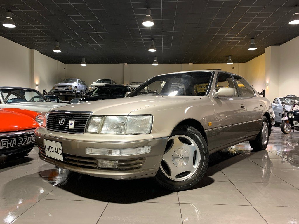 1993 LEXUS LS400 V8 WITH ONLY 44,518 MILES For Sale (picture 1 of 6)