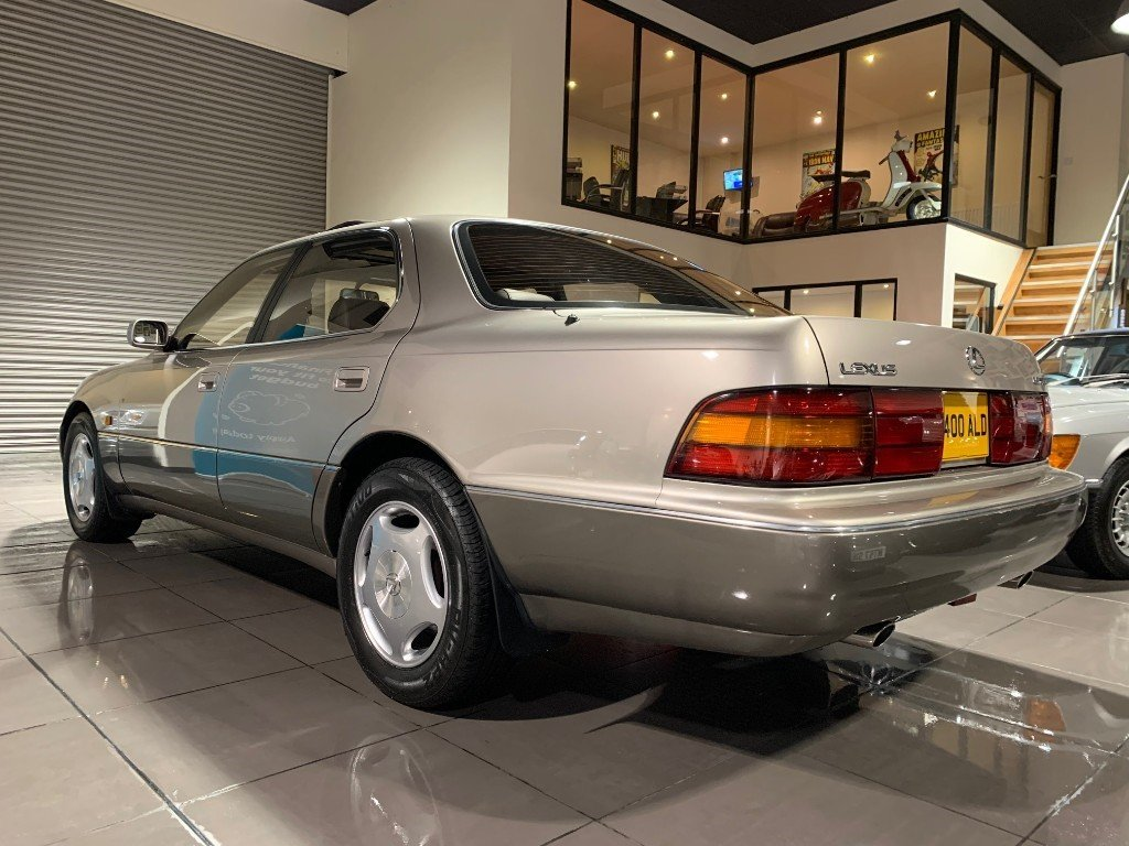 1993 LEXUS LS400 V8 WITH ONLY 44,518 MILES For Sale (picture 2 of 6)