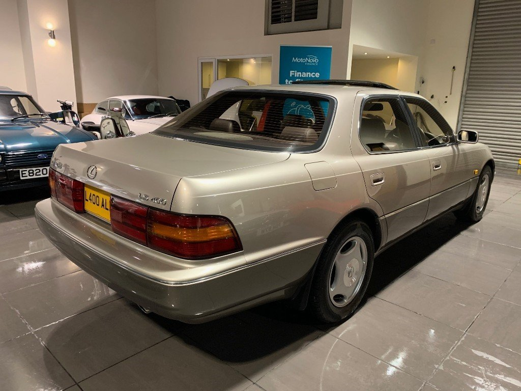 1993 LEXUS LS400 V8 WITH ONLY 44,518 MILES For Sale (picture 3 of 6)