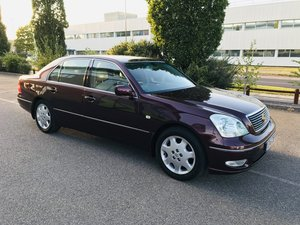 2001 Lexus LS430 Premium: £1795 (East Sussex)