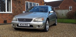 2000 Lexus IS200, just 70k, 2 owner, FSH, Manual,