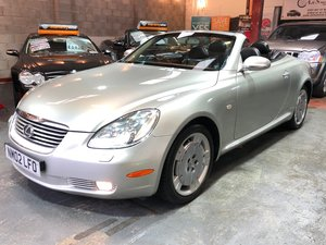 2002 LEXUS SC 430 430 V8 VVT-i ECT Auto Entry  For Sale