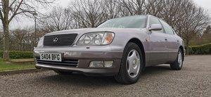 Lexus ls400 4.0 v8 facelift 1998 s