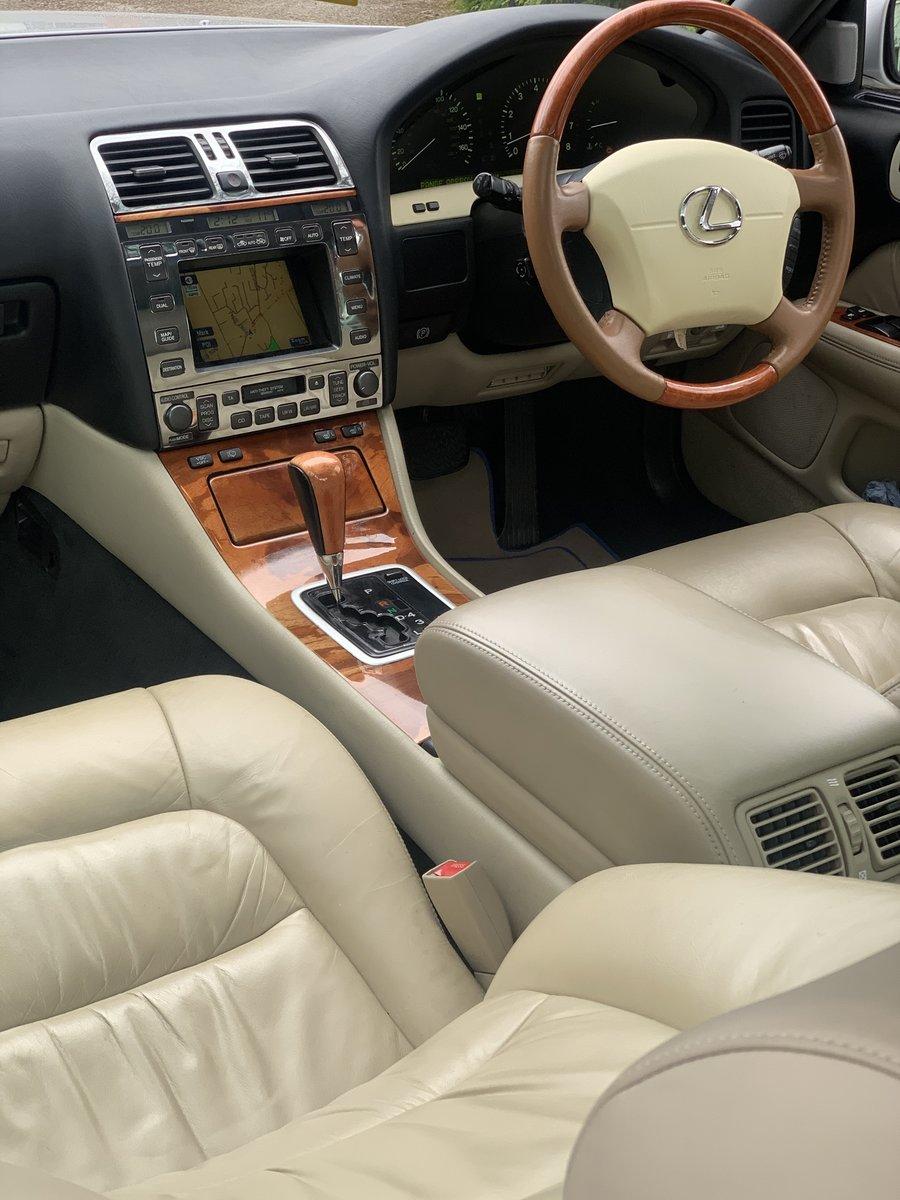 1999 Lexus LS400 V8 auto SOLD (picture 1 of 6)