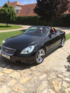2003 Lexus SC430 Luxury Sports Car
