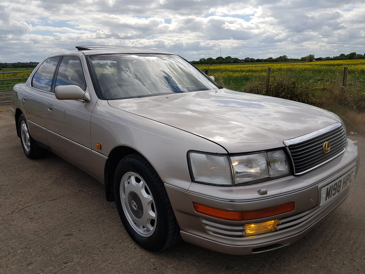 1994 Lexus ls400 gold edition 4.0 v8 auto For Sale (picture 1 of 6)