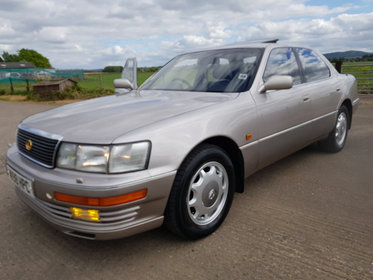 1994 Lexus ls400 gold edition 4.0 v8 auto For Sale (picture 2 of 6)