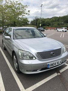 2004 Lexus LS430 Grey Leather FSH Facelift Silver