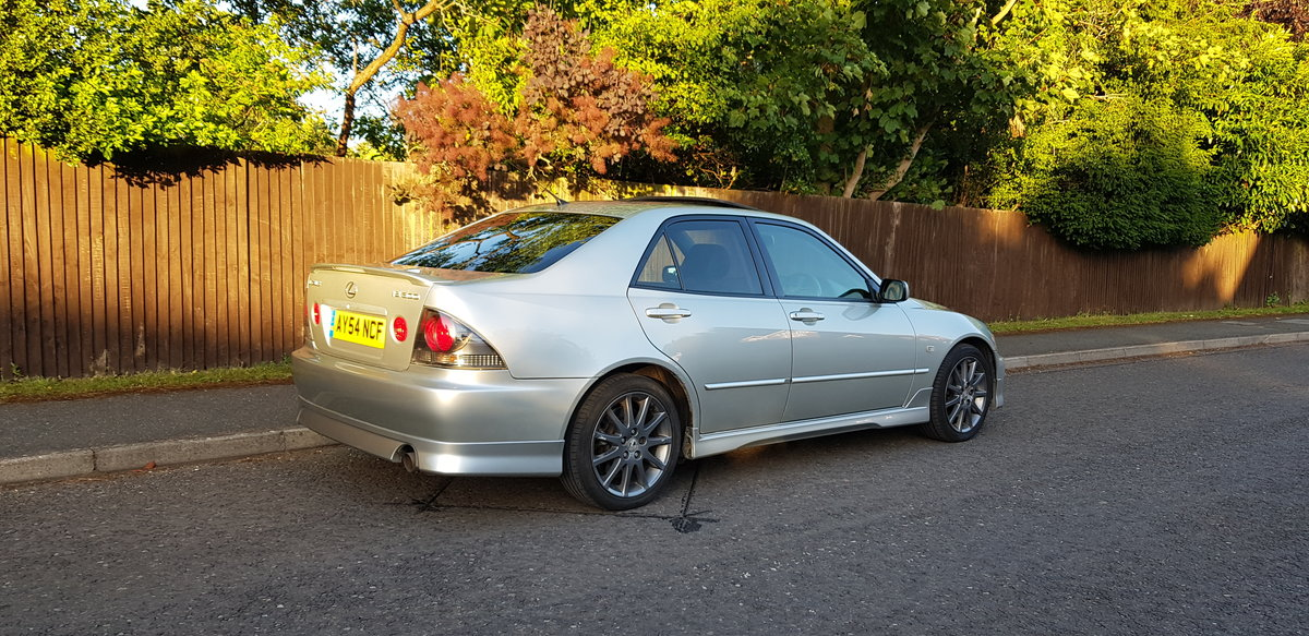 2004 LEXUS IS300 AERO 2 SPORT LIMITED EDITION FULL LS/H For Sale (picture 3 of 6)