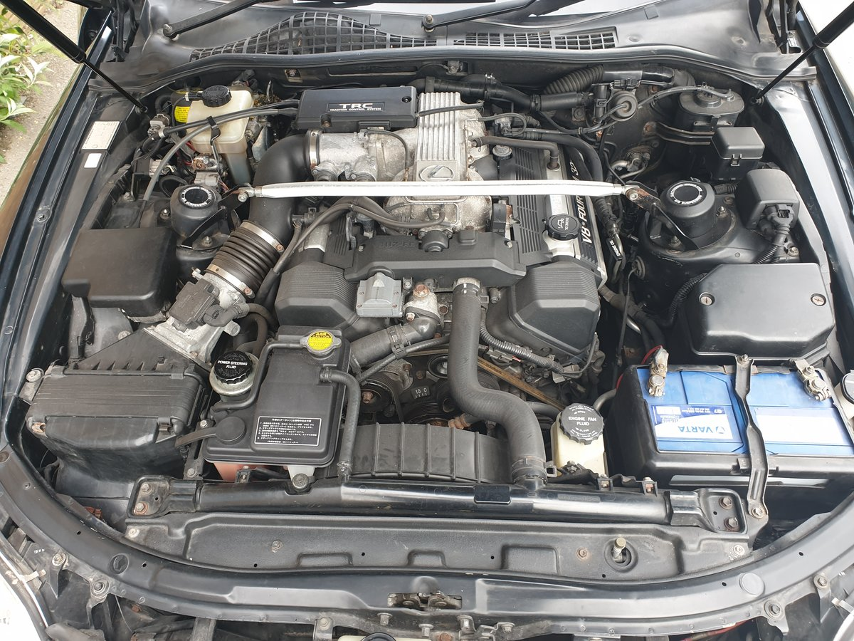 1991 Lexus soarer 4.0 V8 Z30 UZZ31 timewarp cond 41k mi For Sale (picture 5 of 6)