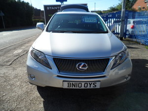 2010 LEXUS RX 450 3LTR PETROL LEC HYBRID A SUPER SUV 4X4 NEW MOT For Sale