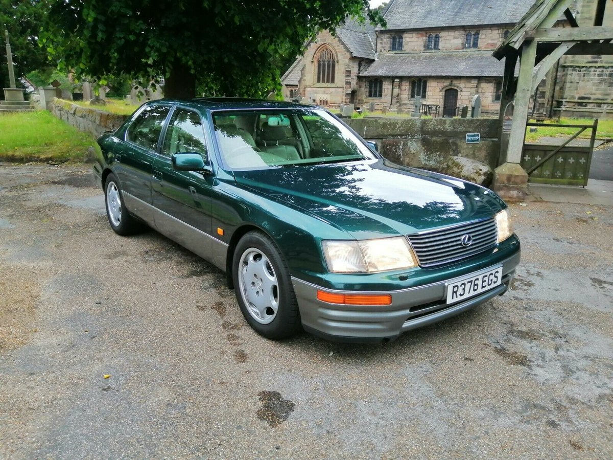 1997 Lexus LS 400 (MOT April 2021) For Sale (picture 1 of 6)