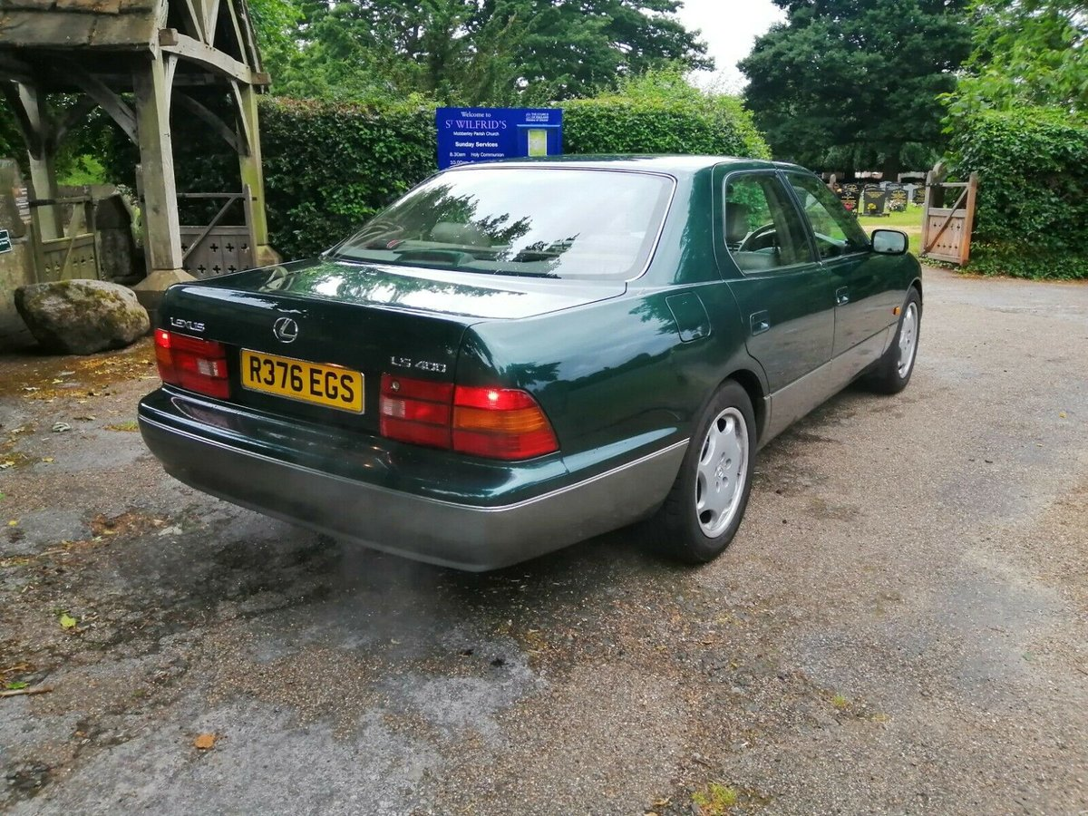 1997 Lexus LS 400 (MOT April 2021) For Sale (picture 2 of 6)