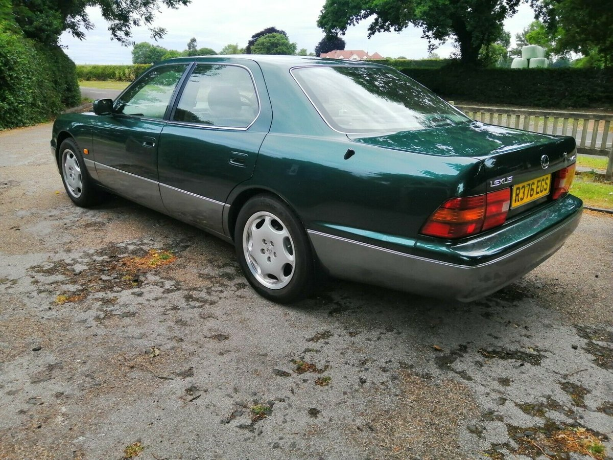 1997 Lexus LS 400 (MOT April 2021) For Sale (picture 3 of 6)