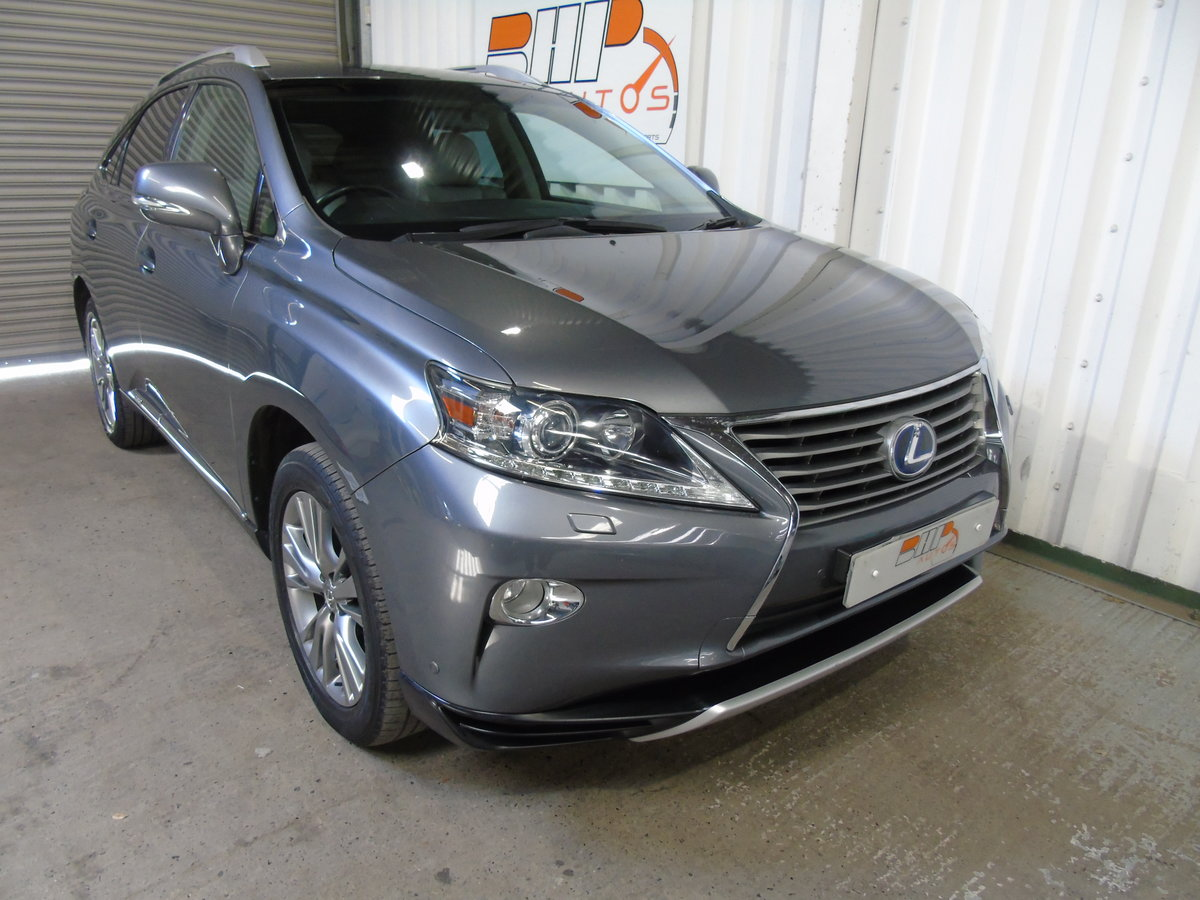 LEXUS RX450H LUXURY 2013 For Sale (picture 2 of 6)